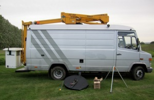 Van and access platform